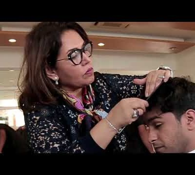 TONI&GUY Karachi Grazia Pakistan Shoot First Men's Cover page
